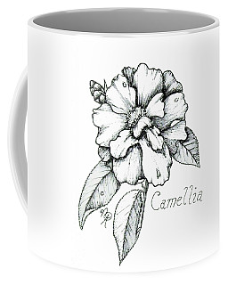 Dew Kissed Camellia Coffee Mug