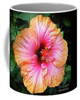 Dew-kissed Hibiscus Coffee Mug