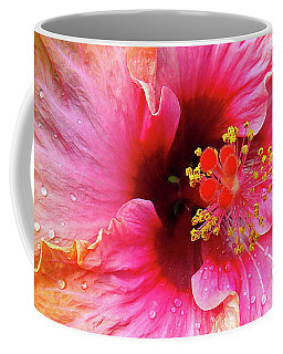 Dew-kissed Hibiscus Coffee Mug