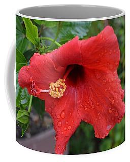 Dew On Flower Coffee Mug