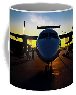 Dhc-8-300 Refueling Coffee Mug