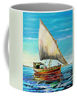 Dhow At Lamu Coffee Mug