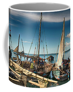 Dhow Sailing Boat Coffee Mug
