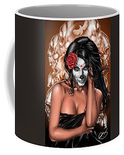 Dia De Los Muertos Remix Coffee Mug