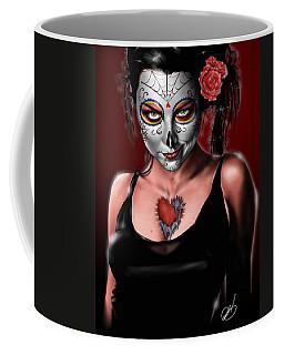 Dia De Los Muertos The Vapors Coffee Mug