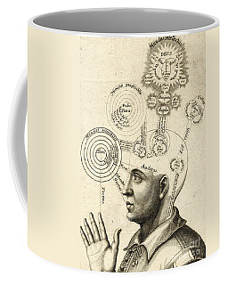 Diagram Of Human Thought And The Four Senses Coffee Mug