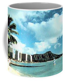 Diamond Head Coffee Mug
