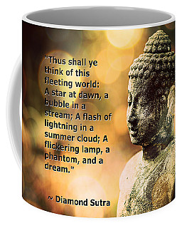 Diamond Sutra Quotation Art Coffee Mug
