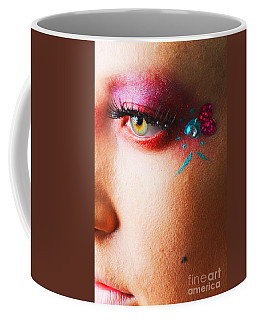 Diamond With Pink Coffee Mug