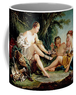 Coffee Mug featuring the painting Diana After The Hunt by Pg Reproductions
