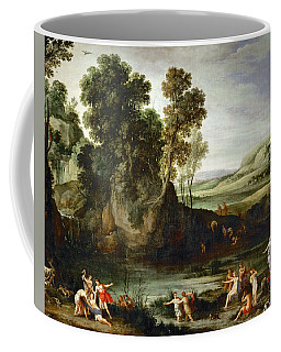 Diana Discovering The Pregnancy Of Callisto Coffee Mug