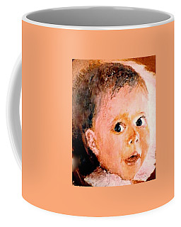 Coffee Mug featuring the painting Diana by Sorin Apostolescu
