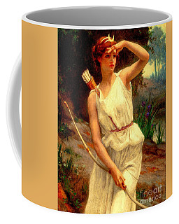 Diana The Huntress Guillaume Seignac  Coffee Mug
