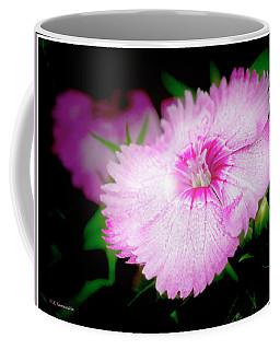 Dianthus Flower Coffee Mug