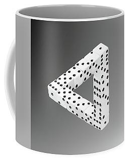 Dice Illusion Coffee Mug
