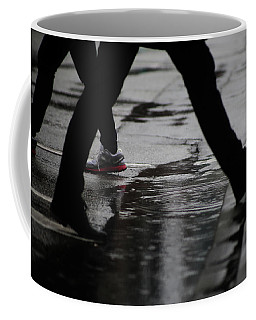 Coffee Mug featuring the photograph different Directions  by Empty Wall
