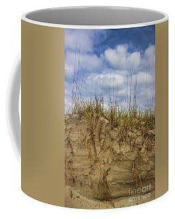 Digging In Deep In Sand Dunes Coffee Mug
