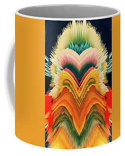 Coffee Mug featuring the photograph Vivid Eruption by Colleen Taylor