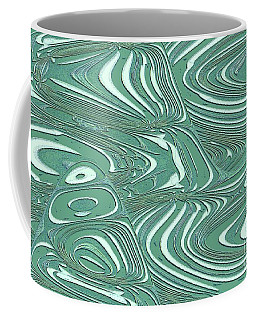 Digital Abstract Coffee Mug