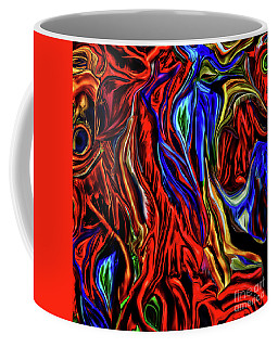Digital Abstraction 1 Coffee Mug