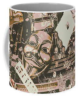 Digital Anonymous Collective Coffee Mug