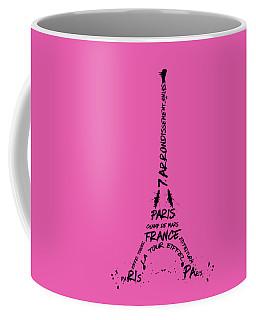 Digital-art Eiffel Tower Coffee Mug