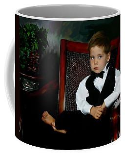 Digital Art Painting Of My Son Coffee Mug