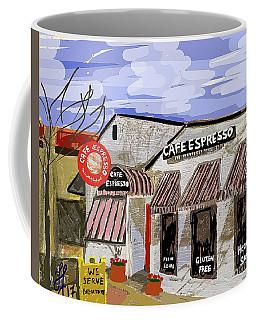 Digital Cafe Coffee Mug