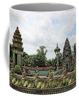 Digital Cambodia Architecture  Coffee Mug