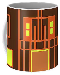 Digital Deco Coffee Mug by Mary Bedy