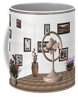 digital exhibition _ Statue of fish 2 Coffee Mug