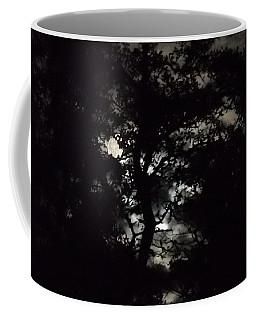 Digital Fine Art Work Full Moon Trees Gulf Coast Florida Coffee Mug