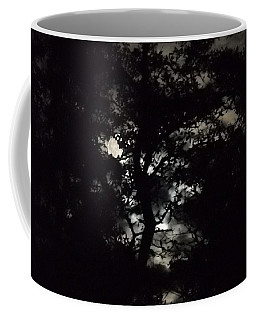 Digital Fine Art Work Full Moon Trees Gulf Coast Florida Coffee Mug