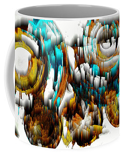 Digital Ghost Sphere 992.042212scwscw Coffee Mug