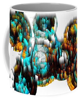 Digital Ghost Sphere 995.042312svsvwsc Coffee Mug
