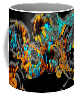 Digital Ghost Sphere Circle 993.042312svswscwscwh Coffee Mug