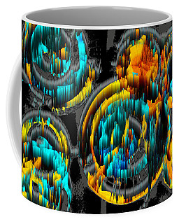 Digital Ghost Sphere Circle 996.042312svsscwscscwh Coffee Mug