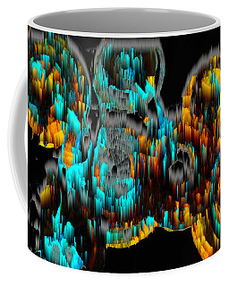 Digital Ghost Sphere Circles 995.042312svsvwscscwh Coffee Mug