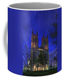 Digital Liquid - Washington National Cathedral After Sunset Coffee Mug