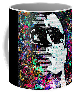 digital Lou Reed Coffee Mug