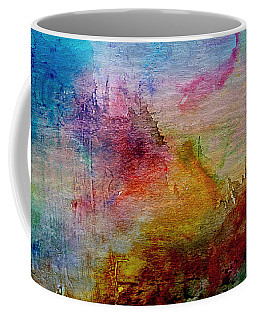 1a Abstract Expressionism Digital Painting Coffee Mug