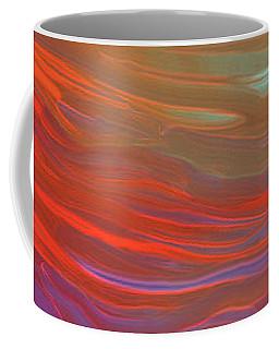 Digital Watercolor Abstract 031417 Coffee Mug by Matt Lindley