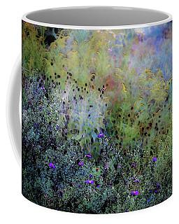 Digital Watercolor Field Of Wildflowers 4064 W_2 Coffee Mug