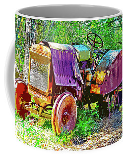 Dilapidated Tractor Coffee Mug