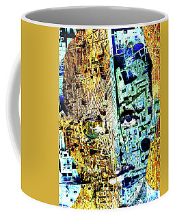 Coffee Mug featuring the painting Dillinger by Tony Rubino