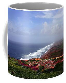 Flowering Beach Point Reyes Lighthouse Bodega Bay Coffee Mug