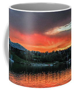 Dillon Marina At Sunset Coffee Mug