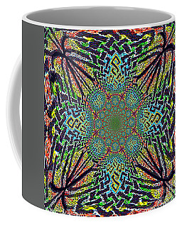 Dimensional Celtic Cross Coffee Mug