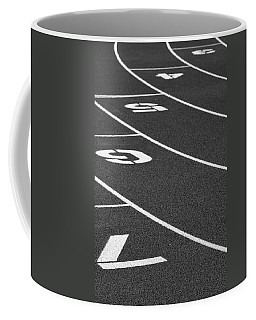 Dimensional Curve Coffee Mug by Laddie Halupa