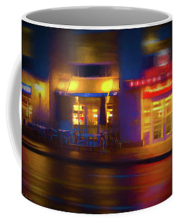 Diner At Night Coffee Mug